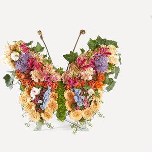 Vlinder Schemerlicht 65 cm